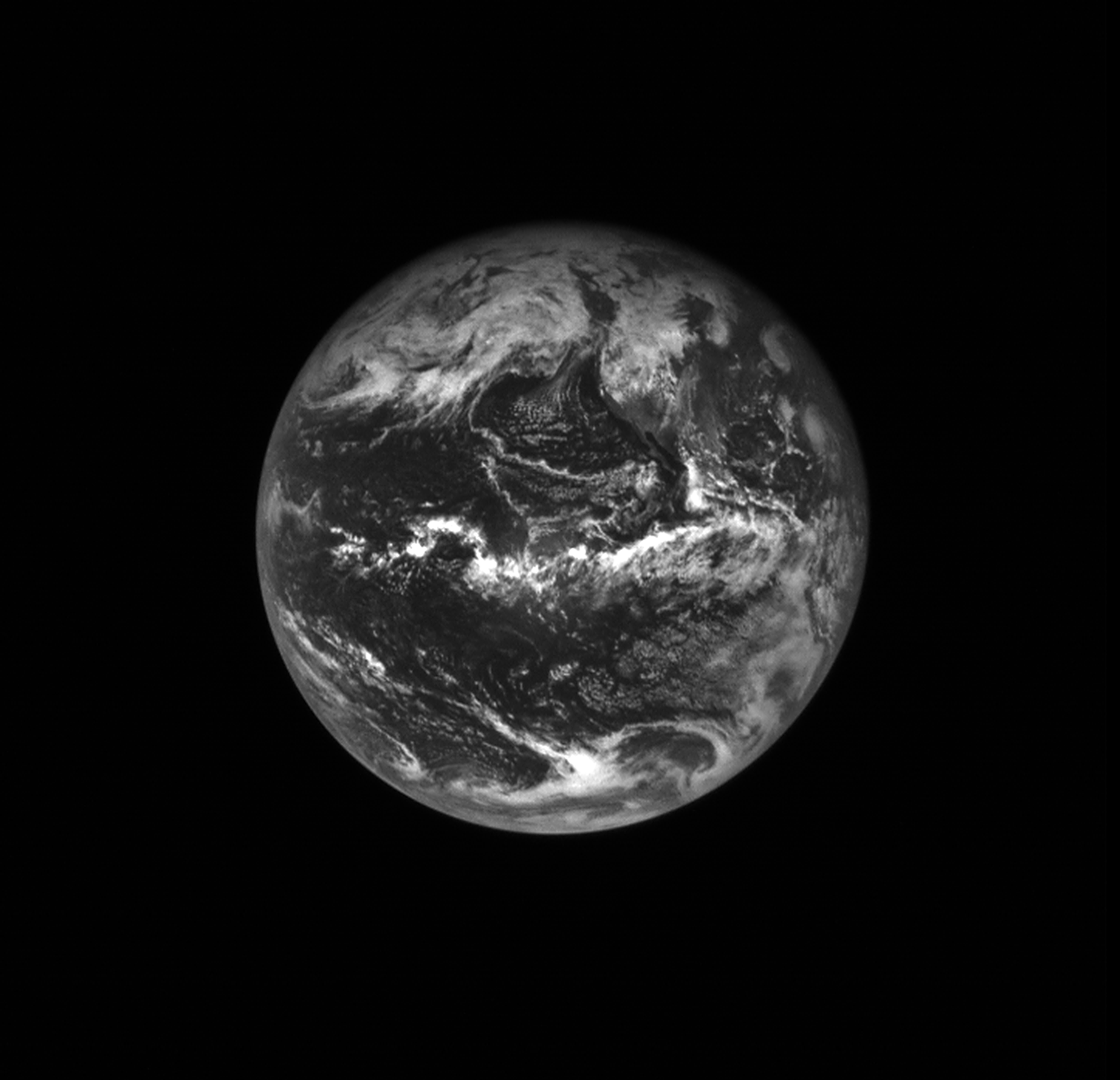 Earth during OSIRIS-REx Earth Gravity Assist maneuver in 2017