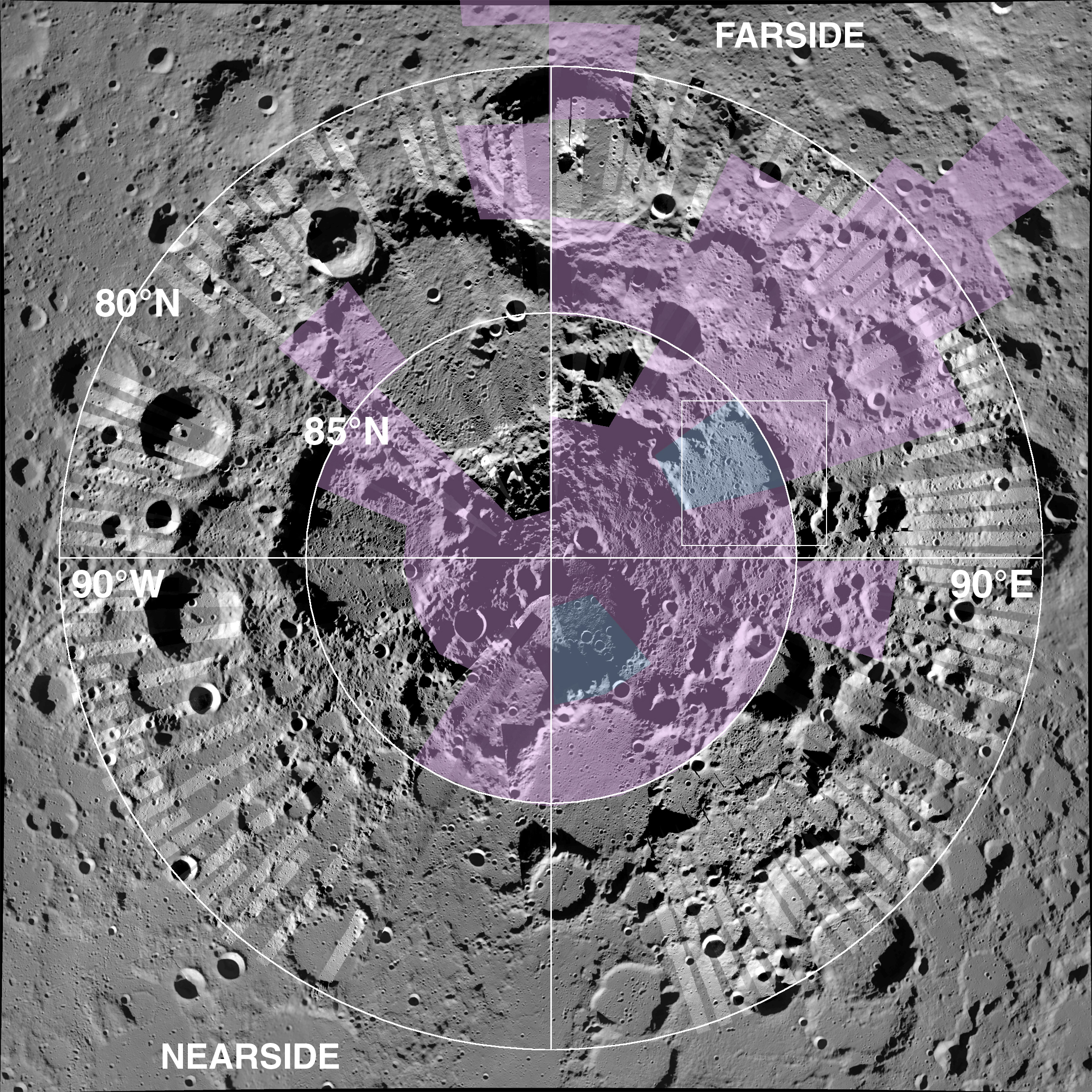 News - Malin Space Science Systems High Resolution Moon Map on saturn's moons map, printable moon map, large moon map, topographic moon map, moon texture map, titan moon surface map, full moon map, moon elevation map, nasa moon map, 3d moon map, interactive moon map, google moon map, high res full moon in winter, moon craters map, europa moon map, national geographic moon map, north pole moon map, moon bump map, far side moon map, high res moon texture,