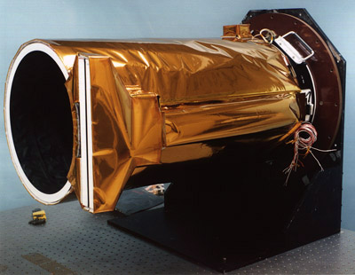 Photograph of the MGS Mars Orbiter Camera.