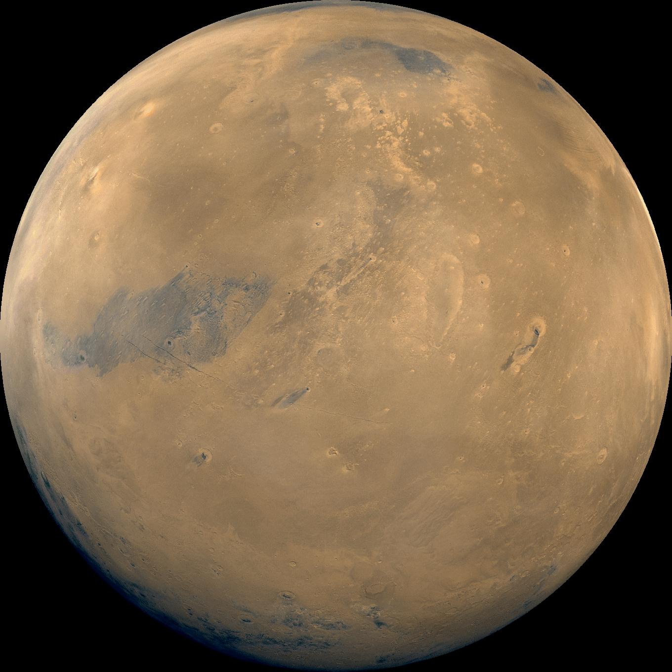 color of mars planet - photo #11