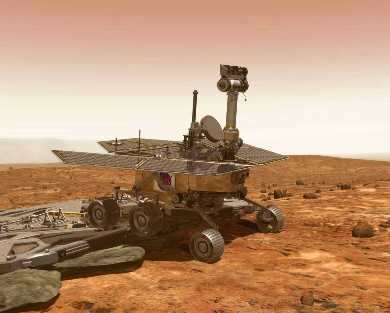 mars rover spirit - photo #11