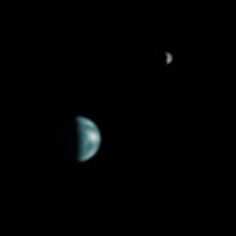 Alignment Of Earth And Jupiter As Seen From Mars On May 8 2003