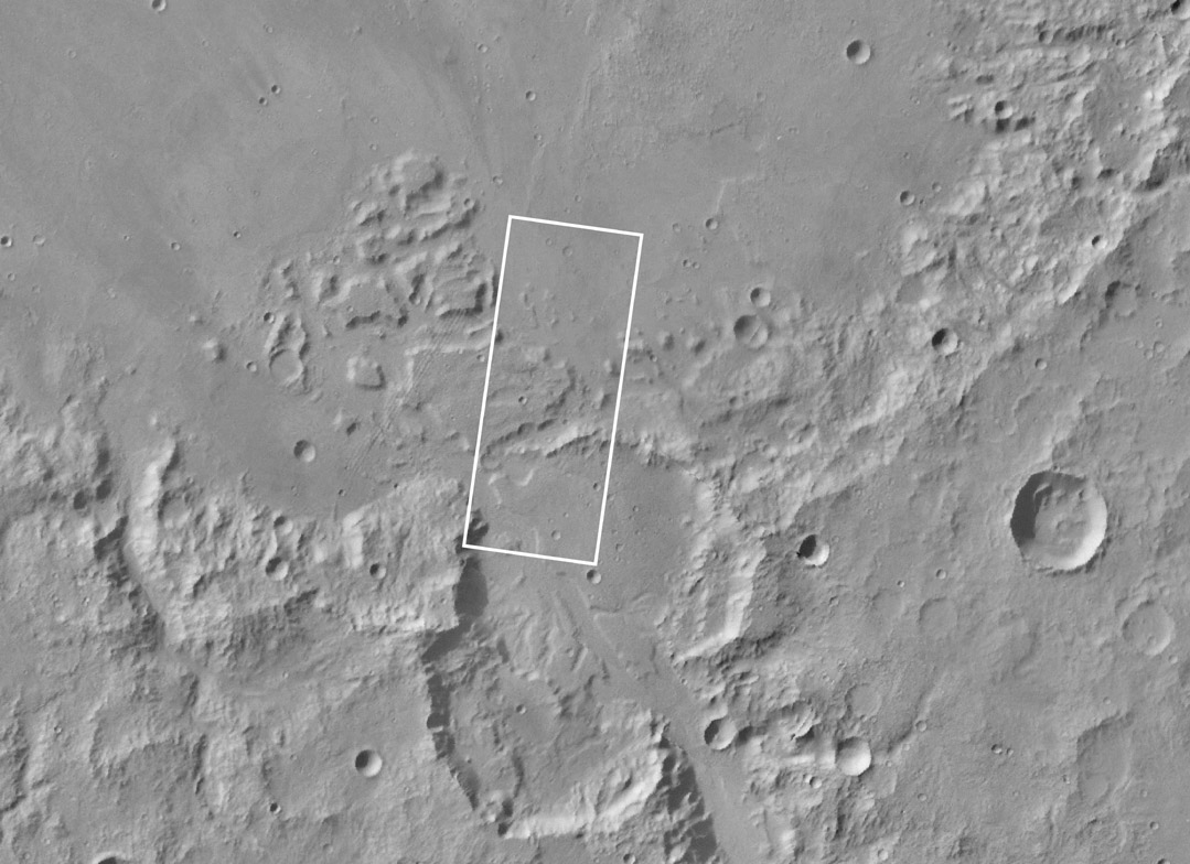 Mars Global Surveyor MOC2-58 Gusev Crater Release