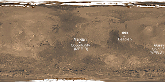 mars rover landing system - photo #45